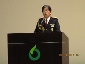 4169(閉会の辞)・・杵藤地区消防協会 今村協会長