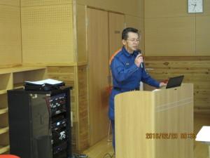 ④講師の石橋消防司令