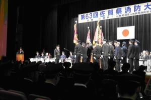 3(公財)佐賀県消防協会定例表彰